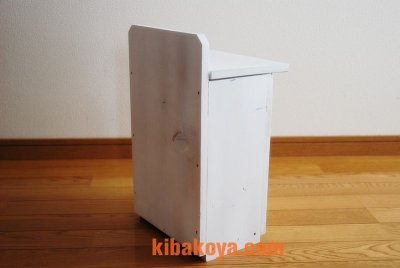 画像3: 【木製ポスト】職人手作り 木製白いポスト レトロなデザインが素敵!郵便受け レターボックス アンティーク ナチュラル エクステリア