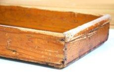 画像4: (アンティーク品:中古)数量限定 中古の仕出箱Cタイプ(20年使用) 収納にガーデニングに!(料亭/割烹/会席用) (4)