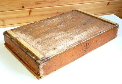 画像2: (アンティーク品:中古)数量限定 中古の仕出箱Cタイプ(20年使用) 収納にガーデニングに!(料亭/割烹/会席用)