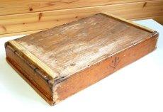 画像7: (アンティーク品:中古)数量限定 中古の仕出箱Cタイプ(20年使用) 収納にガーデニングに!(料亭/割烹/会席用) (7)