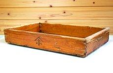 画像3: (アンティーク品:中古)数量限定 中古の仕出箱Cタイプ(20年使用) 収納にガーデニングに!(料亭/割烹/会席用) (3)