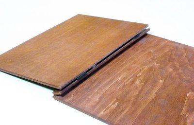 画像2: 【木製メニューブック】 綴じ紐タイプ(A4,B5縦型):合板カラー仕様