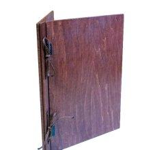画像5: 【木製メニューブック】 綴じ紐タイプ(A4,B5縦型):合板カラー仕様 (5)
