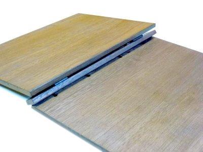 画像3: 【木製メニューブック】綴じ紐タイプ(A4,B5縦型):桐カラー仕様