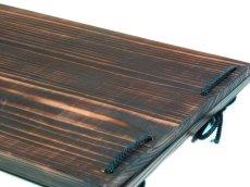 画像5: 【木製メニューブック】 綴じ紐タイプ(A4,B5横型):焼杉仕様 (5)