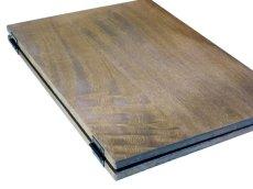 画像6: 【木製メニューブック】ちょう番見開きタイプ(A4,B5縦型):桐カラー仕様 (6)