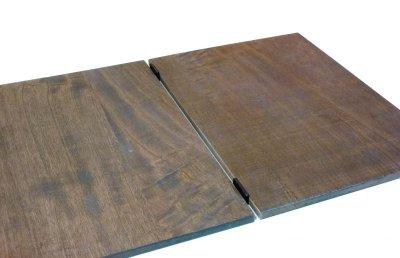 画像2: 【木製メニューブック】ちょう番見開きタイプ(A4,B5縦型):桐カラー仕様