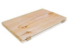 画像5: 【木製メニューブック】ちょう番見開きタイプ(A4,B5縦型):杉板仕様 (5)