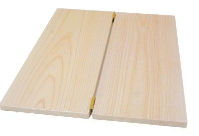 画像2: 【木製メニューブック】縦の長さが指定できる特注サイズ(ひのき仕様)