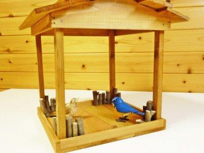 画像3: 【野鳥用餌台(バードフィーダー)】バードレストラン・入門セット(組み立て品)