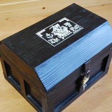 画像5: 【海賊宝箱】デラックス海賊箱(大)ブラック塗装 三方飾り金具仕上げ (5)