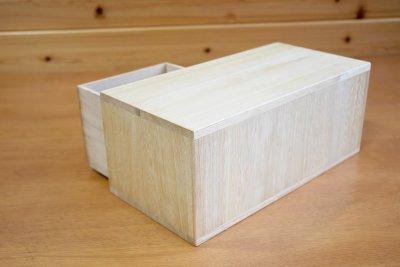 画像2: 【にこにこペアミニ引き出し】桐製 にこにこ ペアミニ引き出し