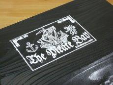 画像3: 【海賊宝箱】デラックス海賊箱(大)ブラック塗装 三方飾り金具仕上げ (3)