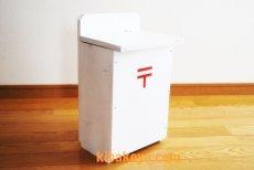 画像4: 【木製ポスト】職人手作り 木製白いポスト レトロなデザインが素敵!郵便受け レターボックス アンティーク ナチュラル エクステリア (4)
