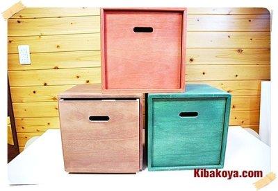 画像3: 【カラーキューブボックス:ミニサイズ21cm】 店舗・リビングディスプレイ用木枠