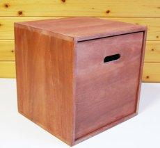 画像6: 【カラーキューブボックス:大サイズ 33cm 引き出しセット】収納ボックス 木製 オープン マルチラック キューブラック シェルフ 本棚 書棚 CDラック (6)