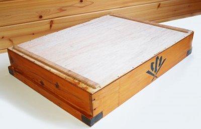 画像2: (アンティーク品:中古)数量限定 中古の仕出箱Aタイプ(5年使用) 収納にガーデニングに!(料亭/割烹/会席用)