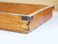 画像5: (アンティーク品:中古)数量限定 中古の仕出箱Bタイプ(10年使用) 収納にガーデニングに!(料亭/割烹/会席用) (5)
