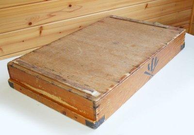 画像2: (アンティーク品:中古)数量限定 中古の仕出箱Bタイプ(10年使用) 収納にガーデニングに!(料亭/割烹/会席用)