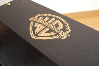 画像1: 【海賊宝箱】デラックス海賊箱(特大)プレミアム・ブラック 金鋲、三方飾り金具仕上げ