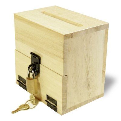 画像1: 【意見箱:ミニ レターサイズ】鍵付き 据え置き型(提案箱/投票箱/投書箱/アンケートボックス/募金箱/義援金箱)