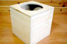 画像5: 【桐製 ごみ箱(ダストボックス)】高級素材の桐からつくった素敵なダストボックス天然木 杉 ウッド  ダストボックス  和室 和風 完成品 日本製 おしゃれ (5)