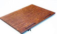 画像4: 【木製メニューブック】 綴じ紐タイプ(A4,B5縦型):合板カラー仕様 (4)