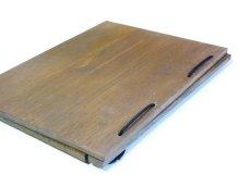 画像5: 【木製メニューブック】綴じ紐タイプ(A4,B5縦型):桐カラー仕様 (5)
