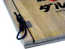 画像6: 【木製メニューブック】綴じ紐タイプ(A4,B5縦型):桐カラー仕様 (6)