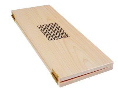 画像1: 【木製メニューブック】縦の長さが指定できる特注サイズ(ひのき仕様)