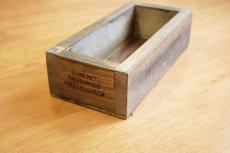 画像7: 【チーズボックス】アンティーク仕上げのおしゃれでレトロなチーズボックス♪ (ZK510) 木箱雑貨 vintage cheese wood box (7)