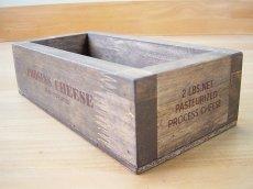 画像10: 【チーズボックス】アンティーク仕上げのおしゃれでレトロなチーズボックス♪ (ZK510) 木箱雑貨 vintage cheese wood box (10)