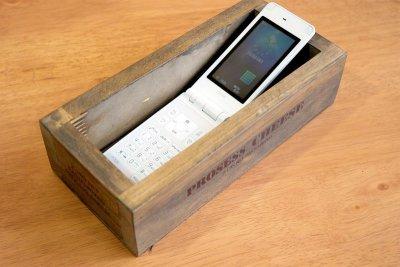 画像1: 【チーズボックス】アンティーク仕上げのおしゃれでレトロなチーズボックス♪ (ZK510) 木箱雑貨 vintage cheese wood box