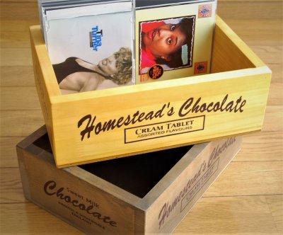 画像2: 【チョコレートボックス】インテリア、キッチンなどの雑貨入れに最適!アンティーク調 チョコレートボックス