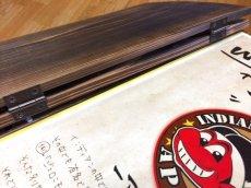 画像5: 【木製メニューブック】綴じ紐タイプ(A4,B5縦型):焼杉仕様 (5)