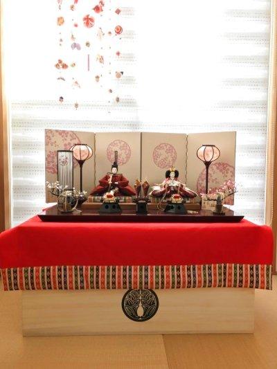 画像1: 雛人形(ひな人形)・五月人形用 オーダーメイド桐収納箱