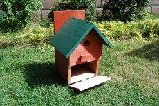 画像9: 【野鳥用巣箱:取り付け型】2色カラフルバードハウスA (前扉タイプ)(完成品) お庭でバードウォッチング! (9)