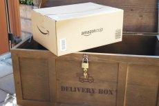 画像5: 【宅配ボックス】ビンテージ感たっぷりおしゃれな木製宅配BOX(宅急便収納箱・受け) (5)
