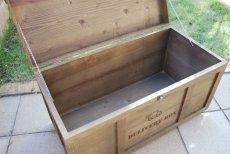 画像14: 【宅配ボックス】ビンテージ感たっぷりおしゃれな木製宅配BOX(宅急便収納箱・受け) (14)
