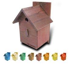 画像9: 【野鳥用巣箱:取り付け型】カラーバードハウスA (前扉タイプ)(完成品) お庭でバードウォッチング! (9)