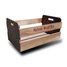 画像15: 【取手型】マルシェボックス インテリア木箱 店舗用什器 ディスプレイ用陳列箱 ベジタブルボックス トレー (15)
