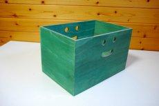 画像10: 【桐製にこにこカラーボックス】市販のカラーボックスにピッタシ! カラフルな桐製収納箱 木製シェルフ ストレージボックス おしゃれな木の雑貨 [CB200] (10)