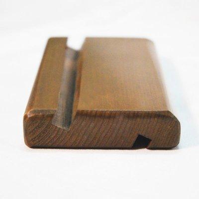 画像2: 【無垢木製スマホ・タブレットスタンド】スマホスタンド 木製 タブレットスタンド iPadスタンド 卓上ホルダー 汎用ウッドモバイルスタンド Android/iPhone 6 6s 7 8 X Plus iPad Mini対応