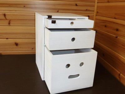 画像1: オーダーメイド収納木箱