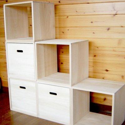 画像2: オーダーメイド収納木箱