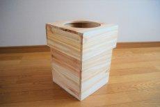画像5: 【杉製 ごみ箱(ダストボックス)】天然杉からつくったぬくもり感じるゴミ箱 (5)