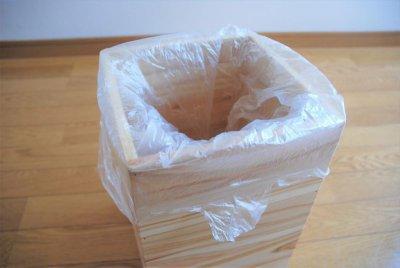 画像2: 【杉製 ごみ箱(ダストボックス)】天然杉からつくったぬくもり感じるゴミ箱